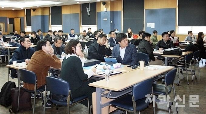 사진은 지난해 11월 열린 서울지부 보톨리눔톡신 강연 및 핸즈온 교육 모습.